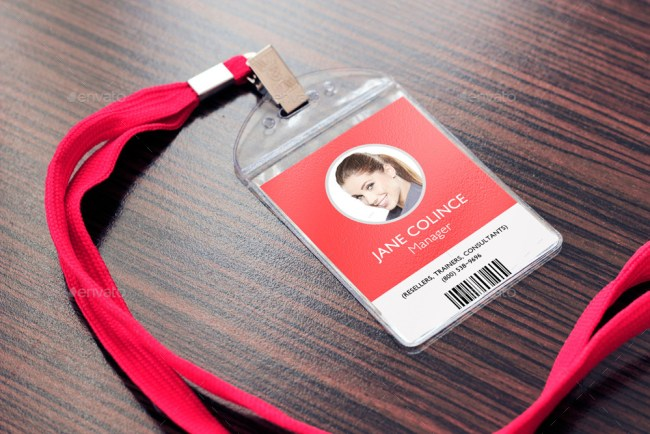 Lanyard / Badge Mockup