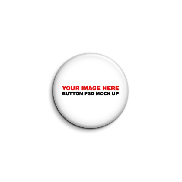 Button badge template free download