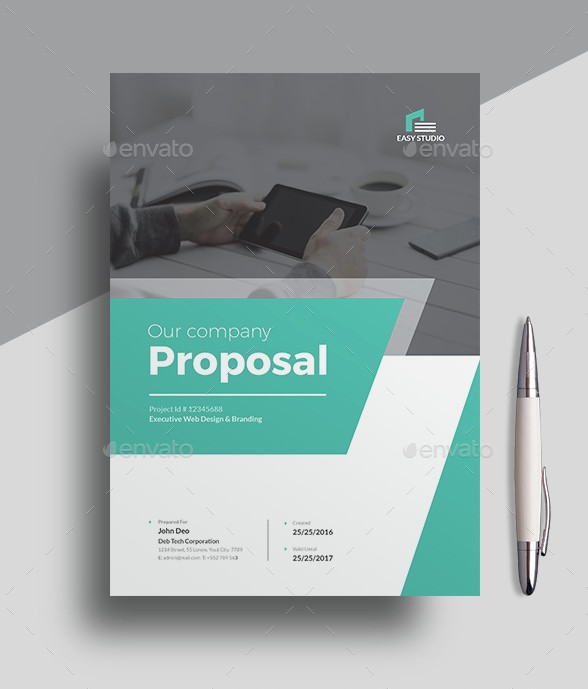 48 best business proposal templates in indesign