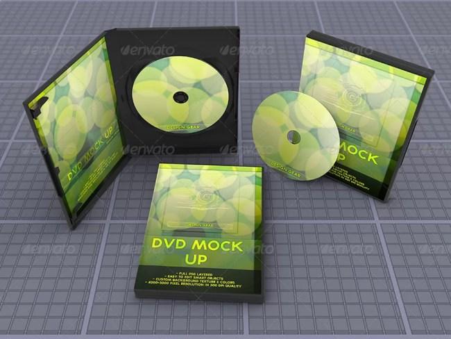 Realistic DVD Mockup