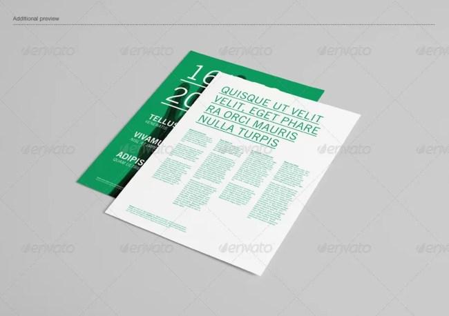 U.S. Letter Flyer Mockup