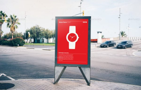 6 Street Billboard Mockup Set