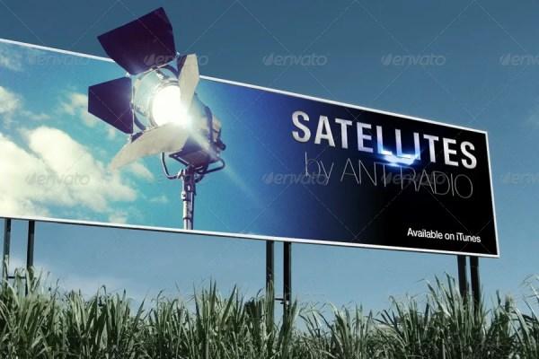 Set of Photorealistic Billboard Mockups