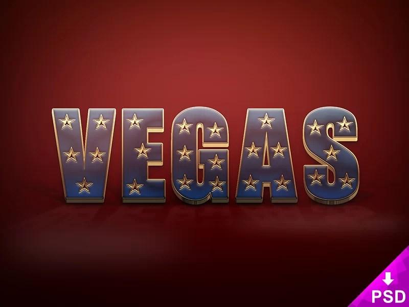 Vegas Text Style