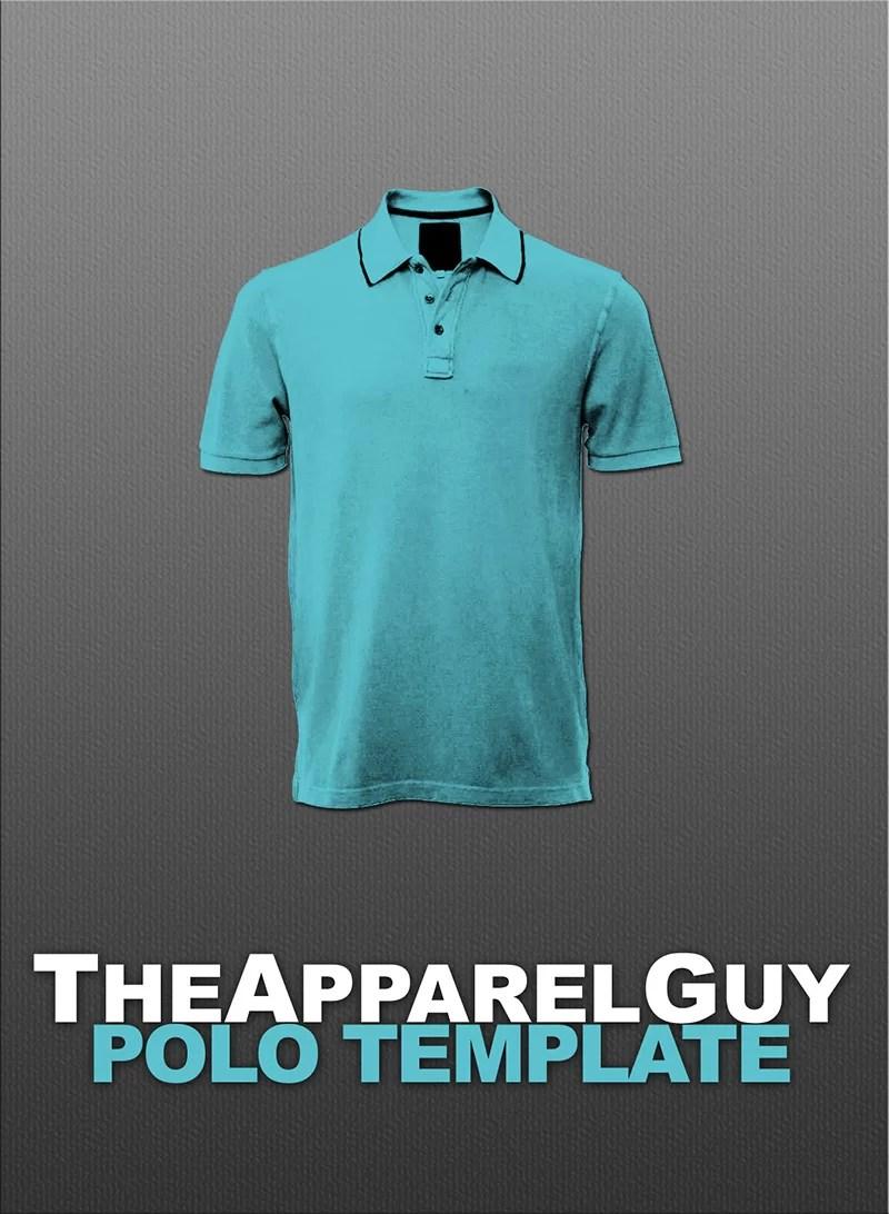 cool free polo shirt t-shirt template psd