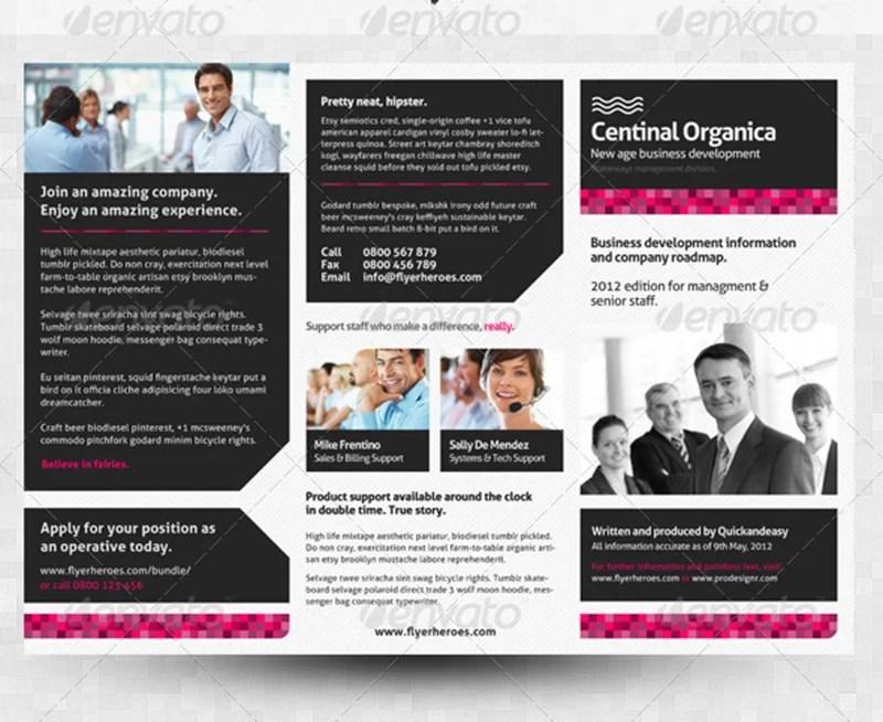 best corporate business brochure design template