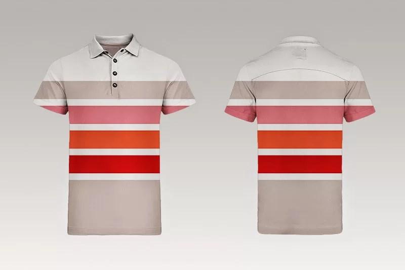 unique free polo t-shirt mockup photoshop psd template