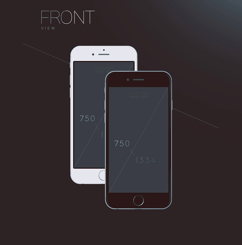amazing free iphone 6 psd mockups