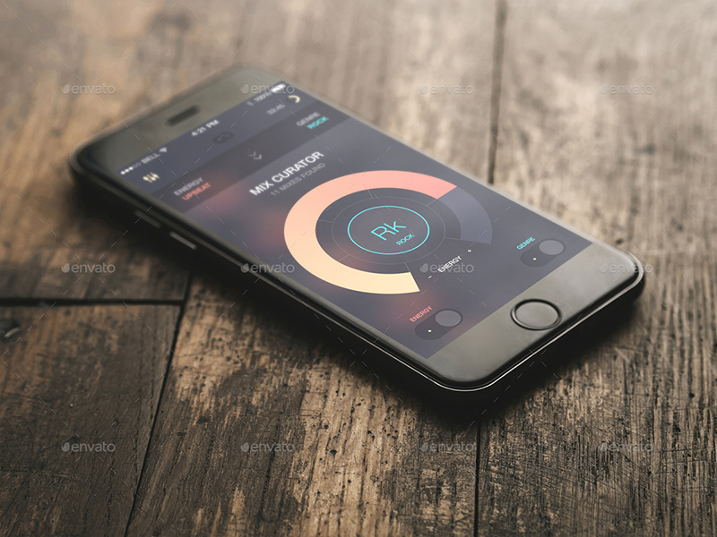 nice premium iphone 6 mockup psd for sale