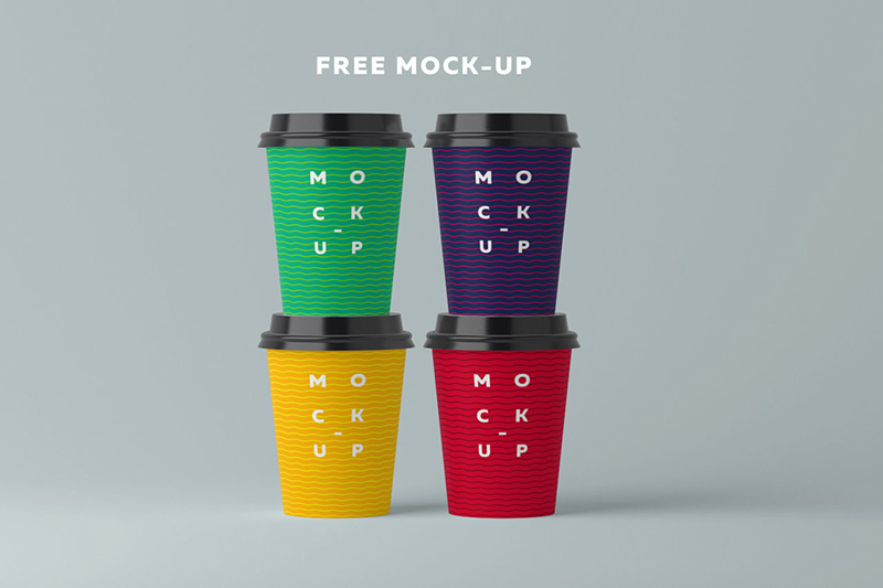 best free coffee cup mockup psd