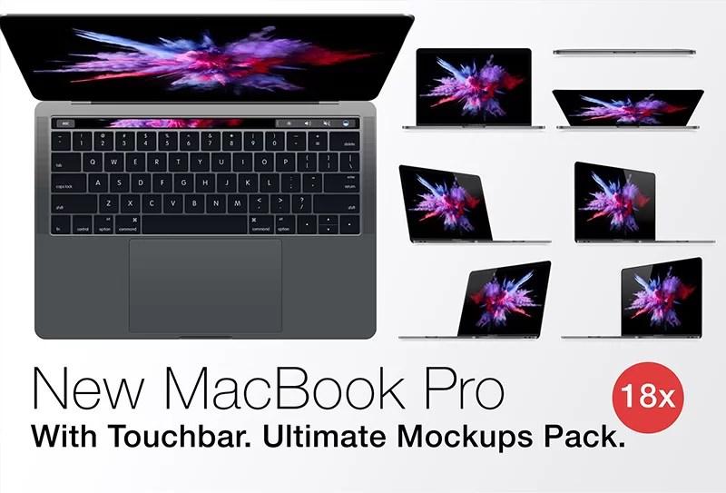 macbook pro psd file