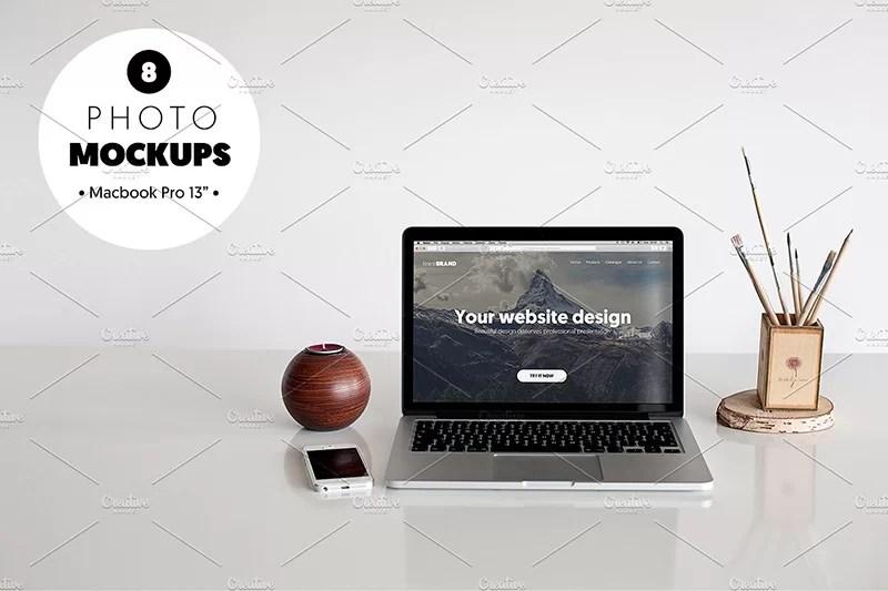 macbook pro computer template