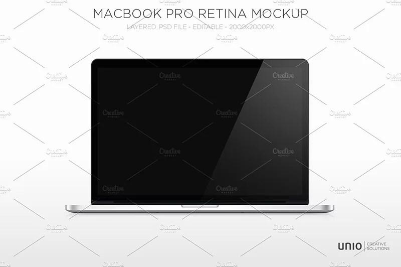 macbook pro retina template