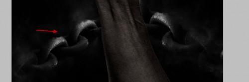 Left 4 500x165 Crie um braço preso com Efeito mancha de sangue no Photoshop