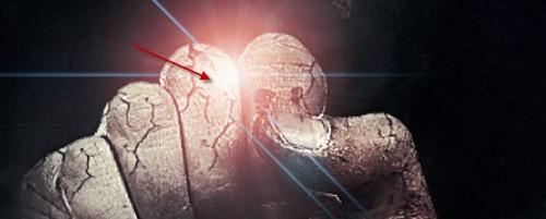 6 reflexo de lente 500x201 Crie um braço preso com Efeito mancha de sangue no Photoshop