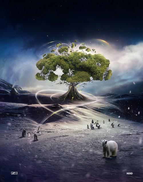 Tree of Life by Keid 500x634 Imagination Unleashed: Best of PSD Vault DeviantART Group – Vol. 21