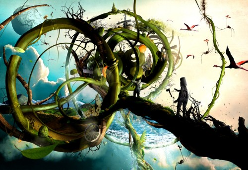 oz by berthjan d3fvq9n 500x342 19 Highly Creative Photo Manipulation Featuring Human and Nature