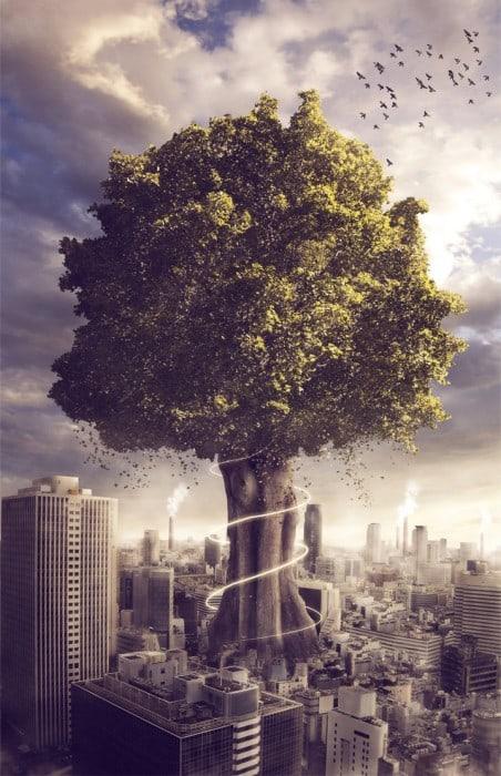 nature  s defiance by reyed33 d36p3od 452x700 Imagination Unleashed: Best of PSD Vault DeviantART Group – Vol. 28