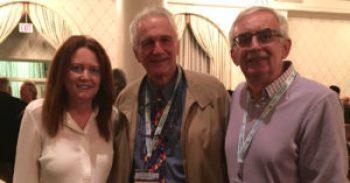 Pseudomyxoma Survivor's Susan and Michael at PSOGI 2016 with Dr Paul Sugarbaker