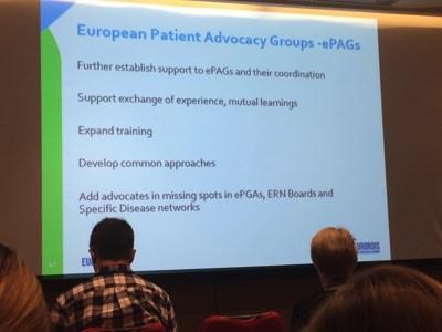 2017 Eurordis Patient Meeting ePags
