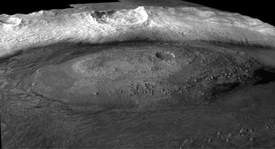 Crommelin Crater, Mars