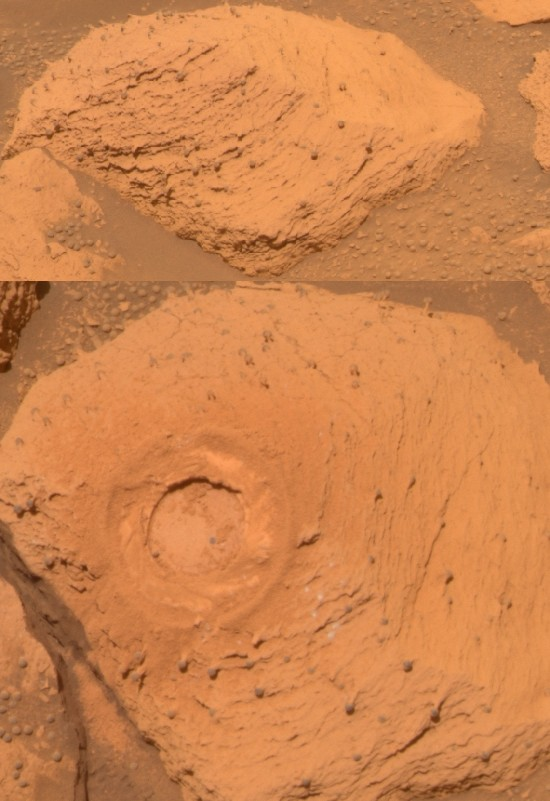 Dedos on Meridiani Planum, Mars