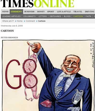 Mr. Berlusconi - Times On Line sul G8