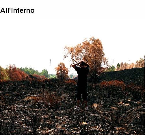 quando il fuoco è usato per distruggere ..