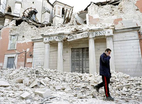Terremoto a Laquila