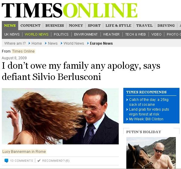 Mr Berlusconi