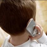cellulare, bambini
