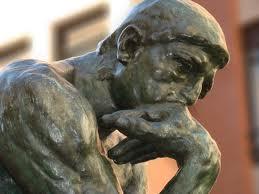 Lógica e o Pensador de Rodin