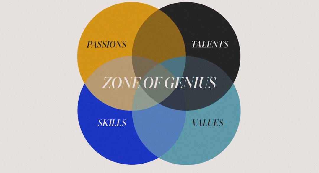 Zona de genialidade – Paixões, Habilidades, Talentos e Valores