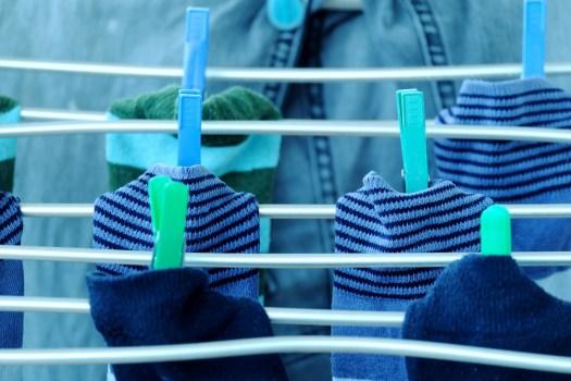psicología ropa calcetines lavadora