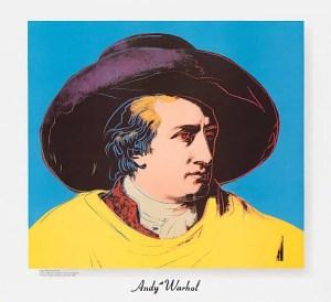 Andy Warhol Goethe 1982