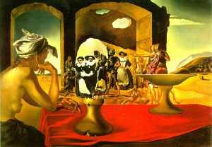 Salvador Dalí  Voltaire