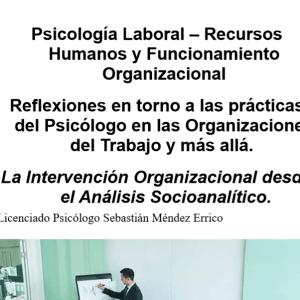 Psicología Laboral – Recursos Humanos y Funcionamiento Organizacional