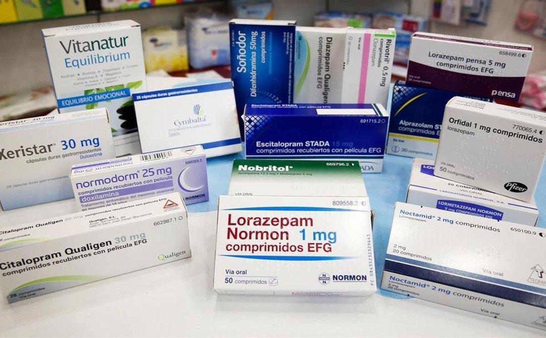 Fármacos en salud mental