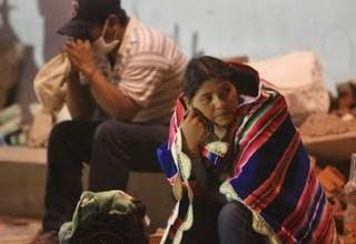 Derrumbe en Bolivia