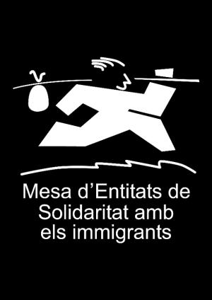 mesa d'entitats de solidaritat amb els inmigrants
