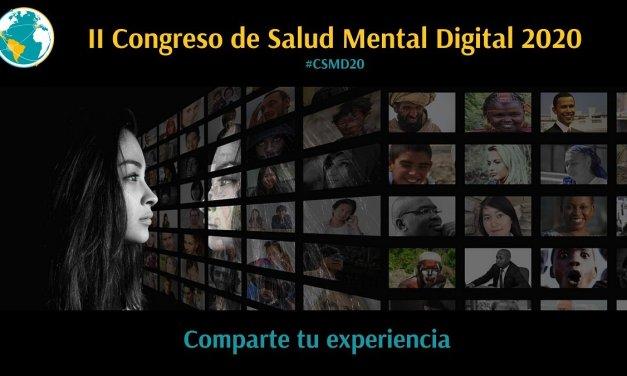 II CONGRESO DE SALUD MENTAL DIGITAL 2020 #CSMD20