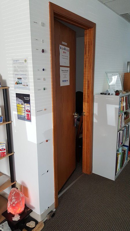 Entry to North Therapy Room