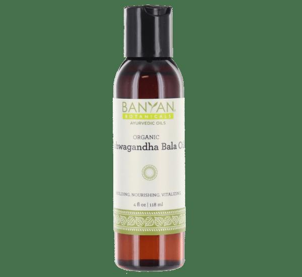 Ashwagandha-Bala Oil, org (4 fl oz) - Banyan Botanicals