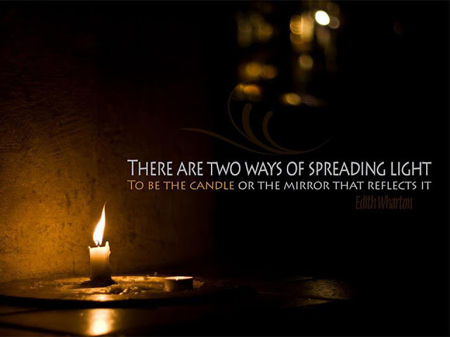 There are two ways of spreading Light 1