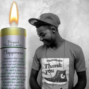 Happiness - Blessed Herbal Candle, Coventry Creations