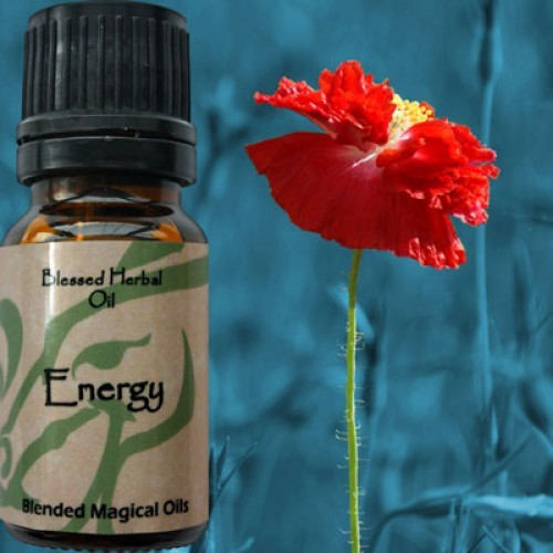 Energy - Blessed Herbal Oil