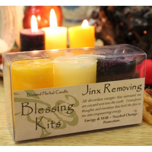 Jinx Removing - Blessed Herbal Blessing Kit