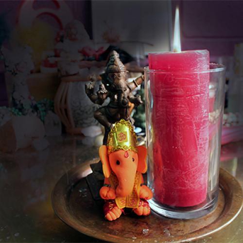 Candle Holder - World Magick size