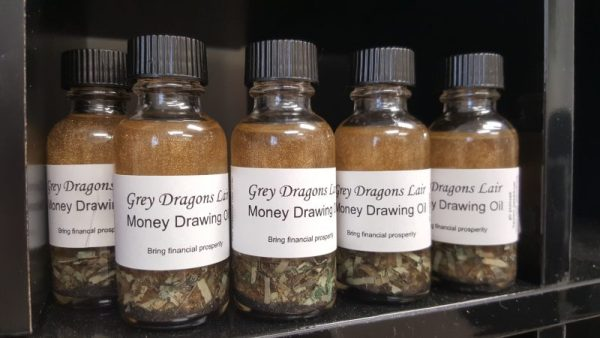 Money Drawing Oil by Grey Dragons Lair