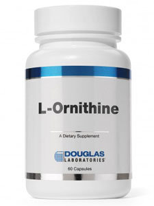 L-Ornithine 500mg 60 caps by Douglas Laboratories